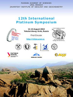 cover 12th international platinum symposium