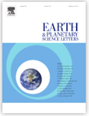 cover earth and planetary science letters