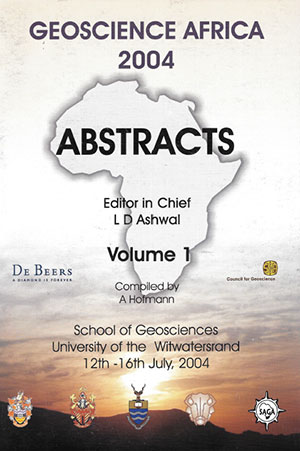 cover geoscience africa 2004