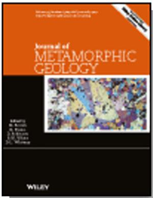 cover journal of metamorphic geology
