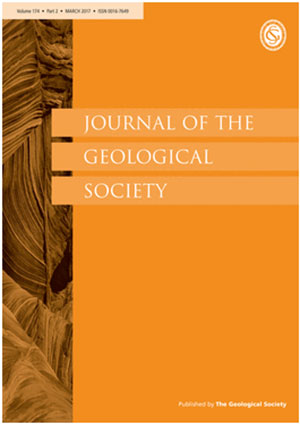 cover journal of the geological society