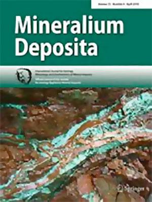cover mineralium deposita 1