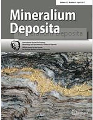 cover mineralium deposita