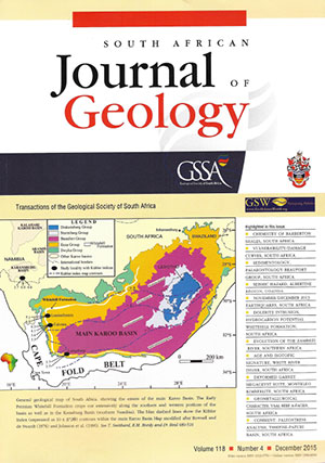 cover south african journal of geology